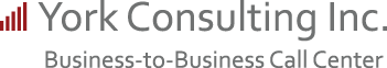 York Consulting Inc. Business-to-Business Call Center